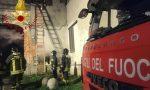 Incendio in un box, Vigili del fuoco salvano due gatti