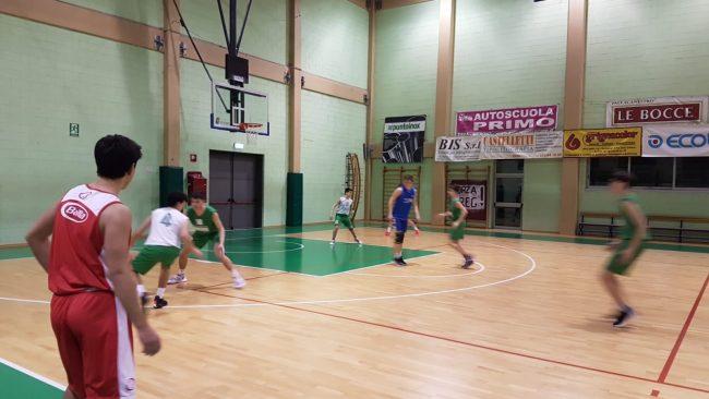 pallacanestro lariana Le Bocce stop