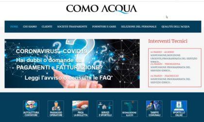 """Como Acqua presenta il nuovo sportello telematico. Pezzoli: """"Nell'evoluzione digitale noi al fianco dei cittadini"""""""