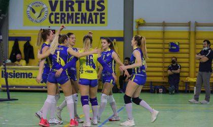 Volley Serie C Femminile, Cermenate continua la serie positiva: 3-0 contro Colverde