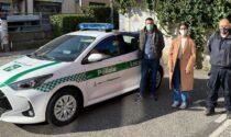 Polizia locale, nuova auto in servizio da domani