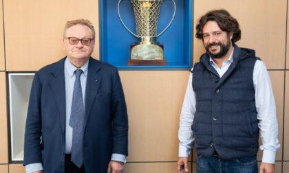 Pallacanestro Cantù il title sponsor Acqua S.Bernardo conferma il suo impegno