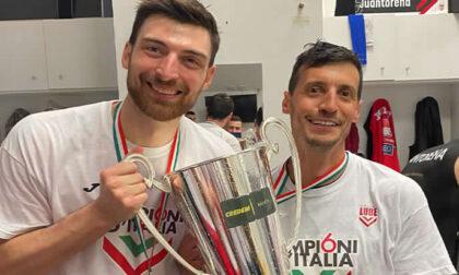 Pallavolo lariana la Fipav di Como si congratula con i tricolori Anzani e Merazzi