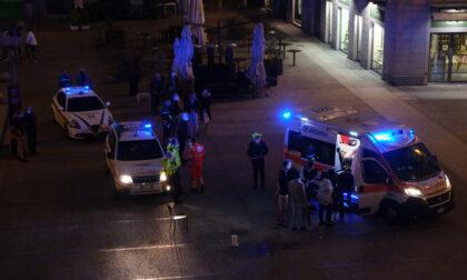"""Aggressione in piazza Volta, Azione Como: """"Zona non sicura"""""""