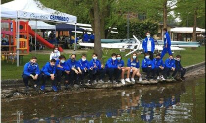 Canottieri Cernobbio quanti allori per i remi biancoazzurri sul lago di Corgeno