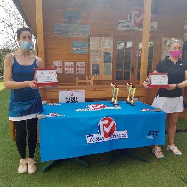 Tennis lariano finaliste tabellone femminile Team Veneri