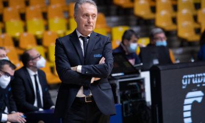 """Pallacanestro Cantù coach Bucchi: """"Serve invertire la rotta"""""""