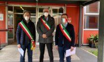 Taglio del nastro al centro vaccinale di Saronno, verrà utilizzato anche per la Bassa Comasca