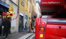 Como, incendio appartamento in via Milano: paura per una donna