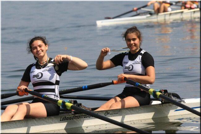 Canottieri Moltarsio argento due femminile