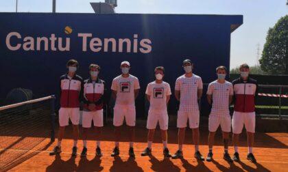 Tennis lariano in serie C il CT Cantù vince nel maschile e pareggia nel femminile