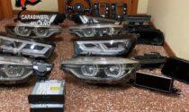 Furti di componenti di auto anche nel Comasco: presa la banda di Corsico