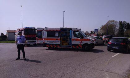 Incidente a Lurago Marinone scontro tra due auto