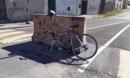 Anziano ciclista urtato da un'auto a Lurago d'Erba