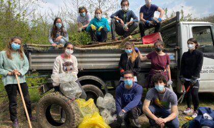 Stay green, giovani anzanesi ripuliscono il paese
