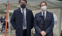 """Il deputato Buffagni (M5s) all'hub di Lariofiere: """"Ottima organizzazione"""""""