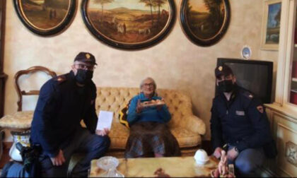 Nonnina 94enne chiama la Polizia per un finto furto, ma voleva solo compagnia