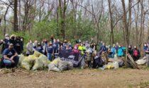 A caccia di rifiuti, mobilitazione di volontari