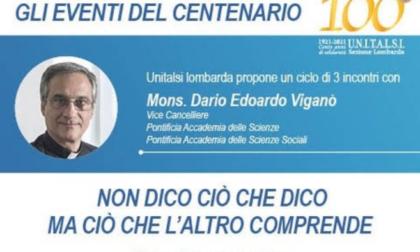 Unitalsi Lombarda oggi gli eventi del centenario Mons Dario Edoardo Viganò