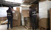 Guanzate, sequestrata dalle Fiamme Gialle una stamperia abusiva con pezzi di ricambio Iveco contraffatti
