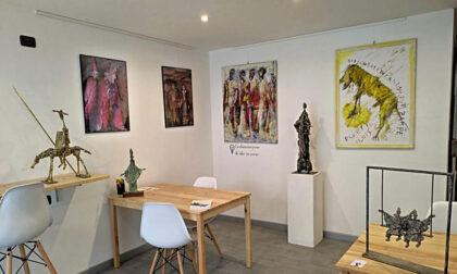 Spazio 5 stelle ospita la mostra dell'artista comasco Pantaleo Creti