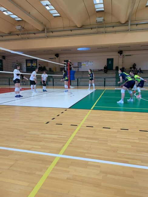 Albese volley tesat a Biella