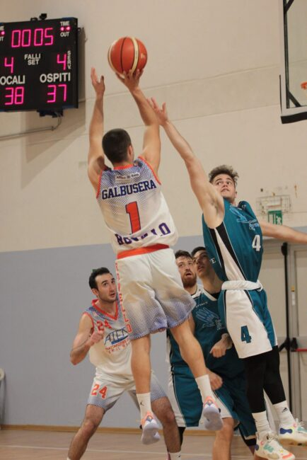 Basket serie D il derby Rovello-Appiano