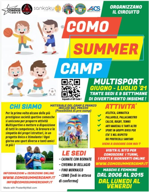 Sport comasco Como Summer camp