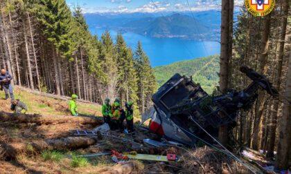Precipita una cabina della funivia Stresa-Mottarone: bilancio definitivo 14 vittime e un ferito grave