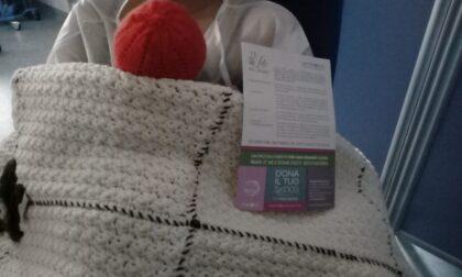 Quaranta coperte per la canguro terapia: il progetto nato al Valduce arriva in tutta Italia