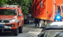 Auto in fiamme a Garbagnate, muore a 43 anni il fratello dell'ex vicesindaco