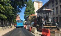 Corsa per riaprire la strada statale in centro
