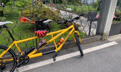 Malore sul tandem, ciclista trasportato in ospedale