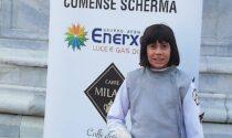 Comense Scherma tre medaglie brillanti a Gerenzano per le baby del club nerostellato