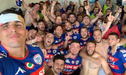 Rugby lariano il comasco Ruggeri con il suo Rovigo rimonta Calvisano evola in finale scudetto