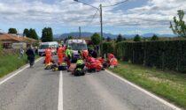 Incidente a Bulgarograsso investiti due pedoni