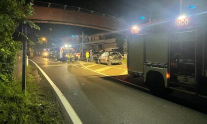 Due incidenti a Gravedona e Bizzarone: feriti tre giovanissimi SIRENE DI NOTTE