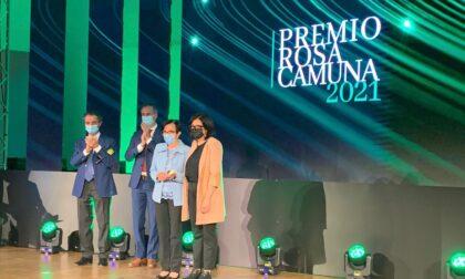 Consegnata la Rosa Camuna alla Briantea 84 e una menzione speciale per don Roberto Malgesini