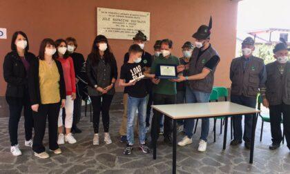 """Vighizzolo, alla Rodari consegnata allo studente più meritevole la borsa di studio """"Giancarlo Novati"""""""
