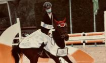 Camilla giovane stella dell'equitazione