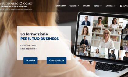 """Confcommercio Como lancia il nuovo sito. Monetti: """"Un grande percorso di trasformazione per aiutare gli associati"""""""