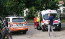 Investito un ciclista ad Alzate: arriva l'elisoccorso, è grave