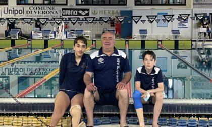 Nuoto: record Magrassi e Mascheroni migliora