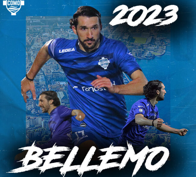 Como calcio rinnova Bellemo