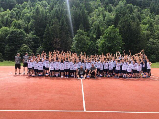 pallacanestro giovanile Blackcourth camp