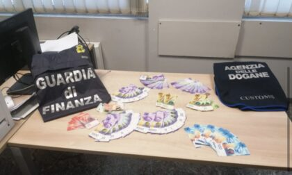Valico Como-Brogeda intercettati 344mila euro non dichiarati