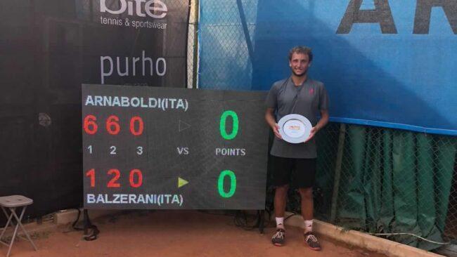 Tennis lariano Federico Arnaboldi ok