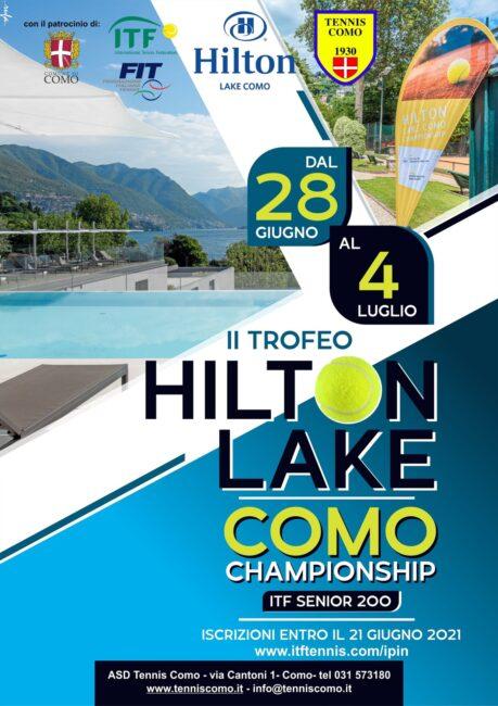Tennis Como Hilton lake Como