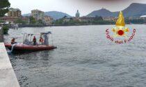 Sversamento di idrocarburi nel lago di Como, vigili del fuoco al lavoro