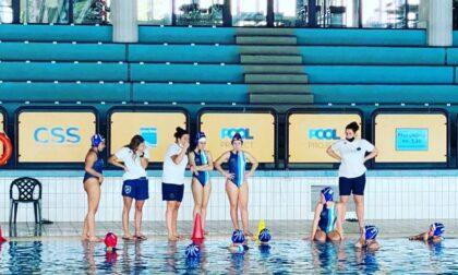 Rane Rosa le under16 lariane sono tornate in vasca per il campionato lombardo